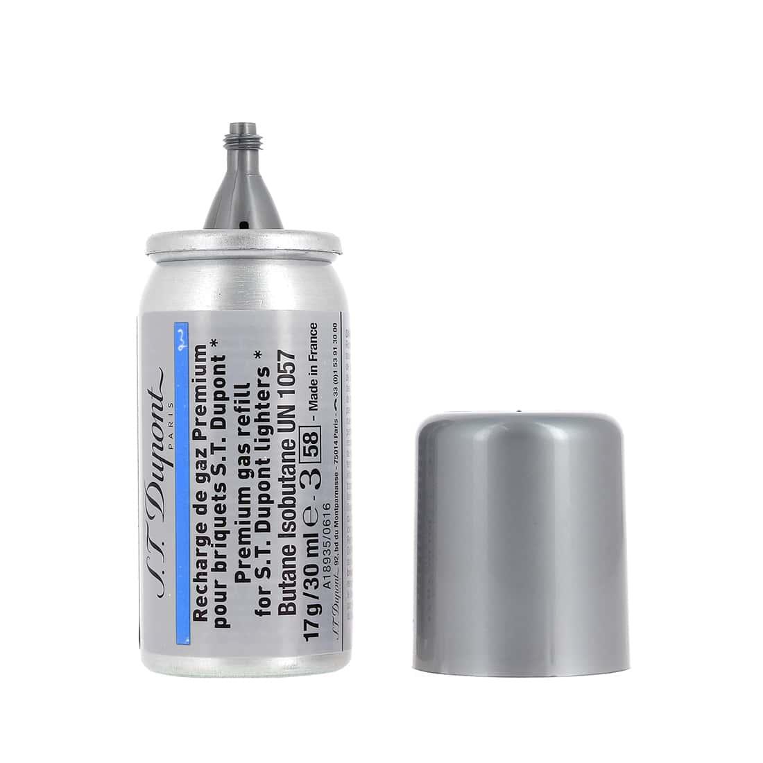 Photo #2 de Recharge gaz bleue premium S.T. Dupont 434 x2