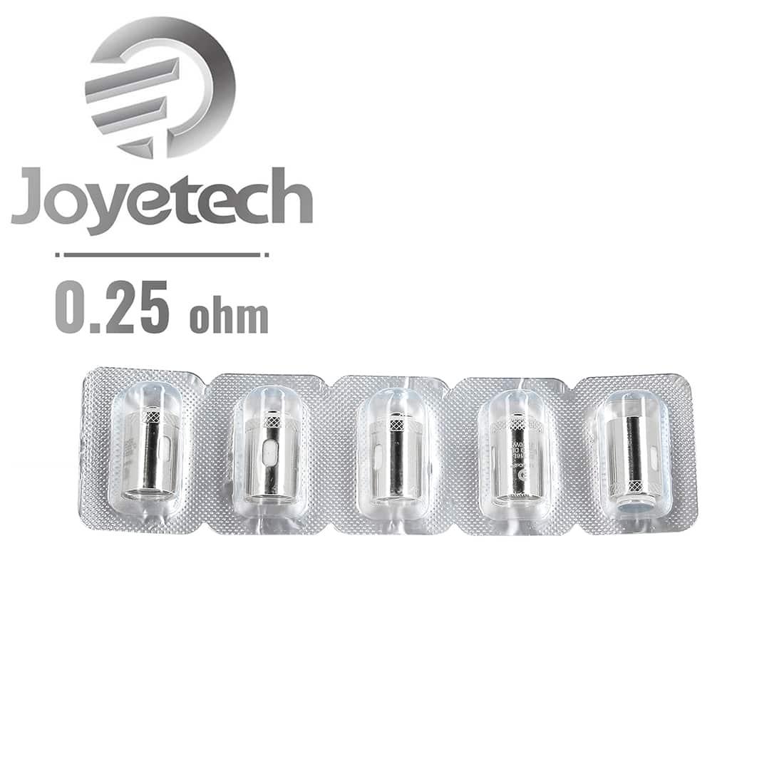 Photo #2 de Résistance Joyetech NotchCoil 0.25 Ω pack de 5