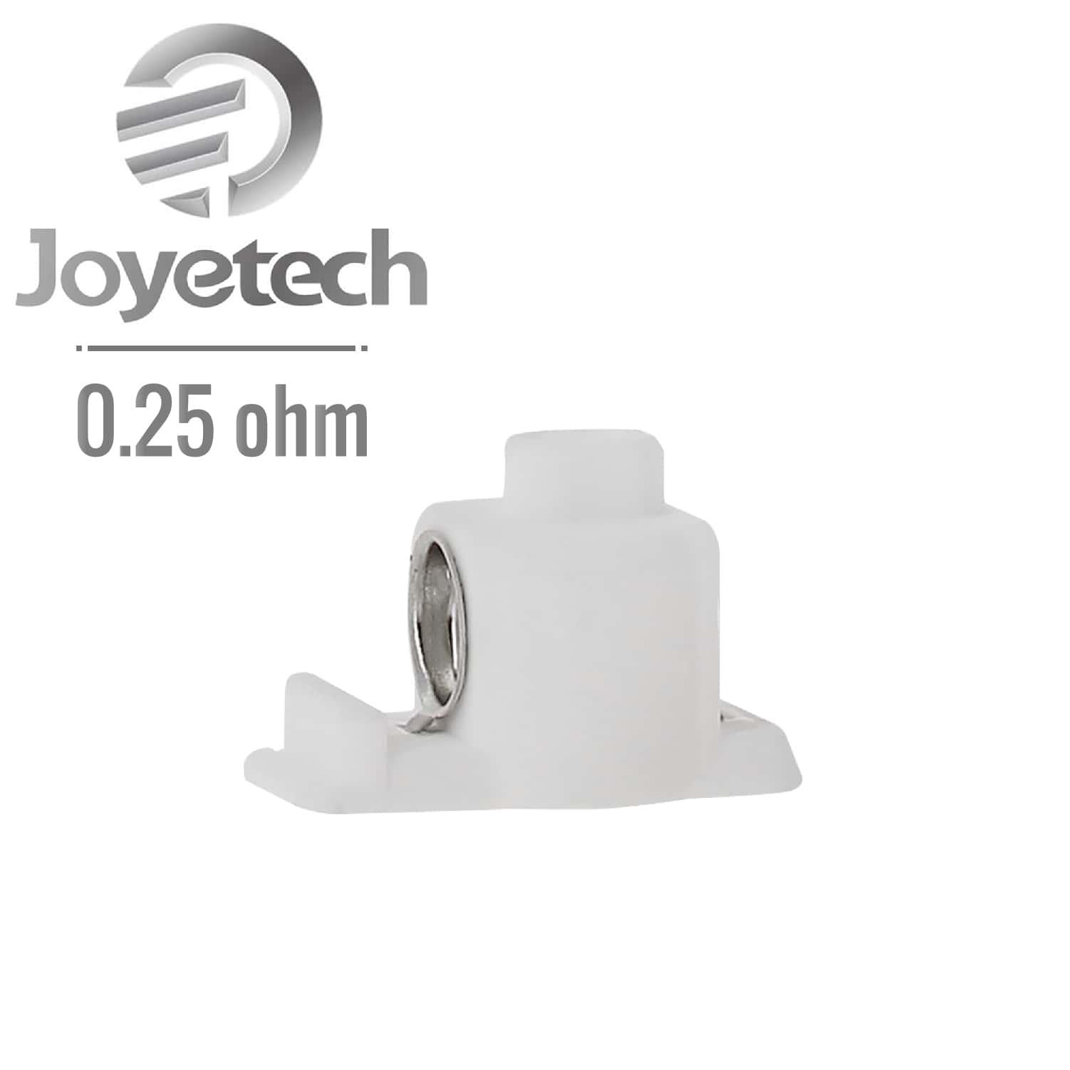 Photo #1 de Résistance JVIC Joyetech Dolphin 0.25 Ω pack de 5