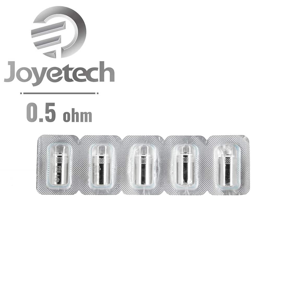 Photo #1 de Résistances Joyetech BFSS316 0.5 Ω pack de 5