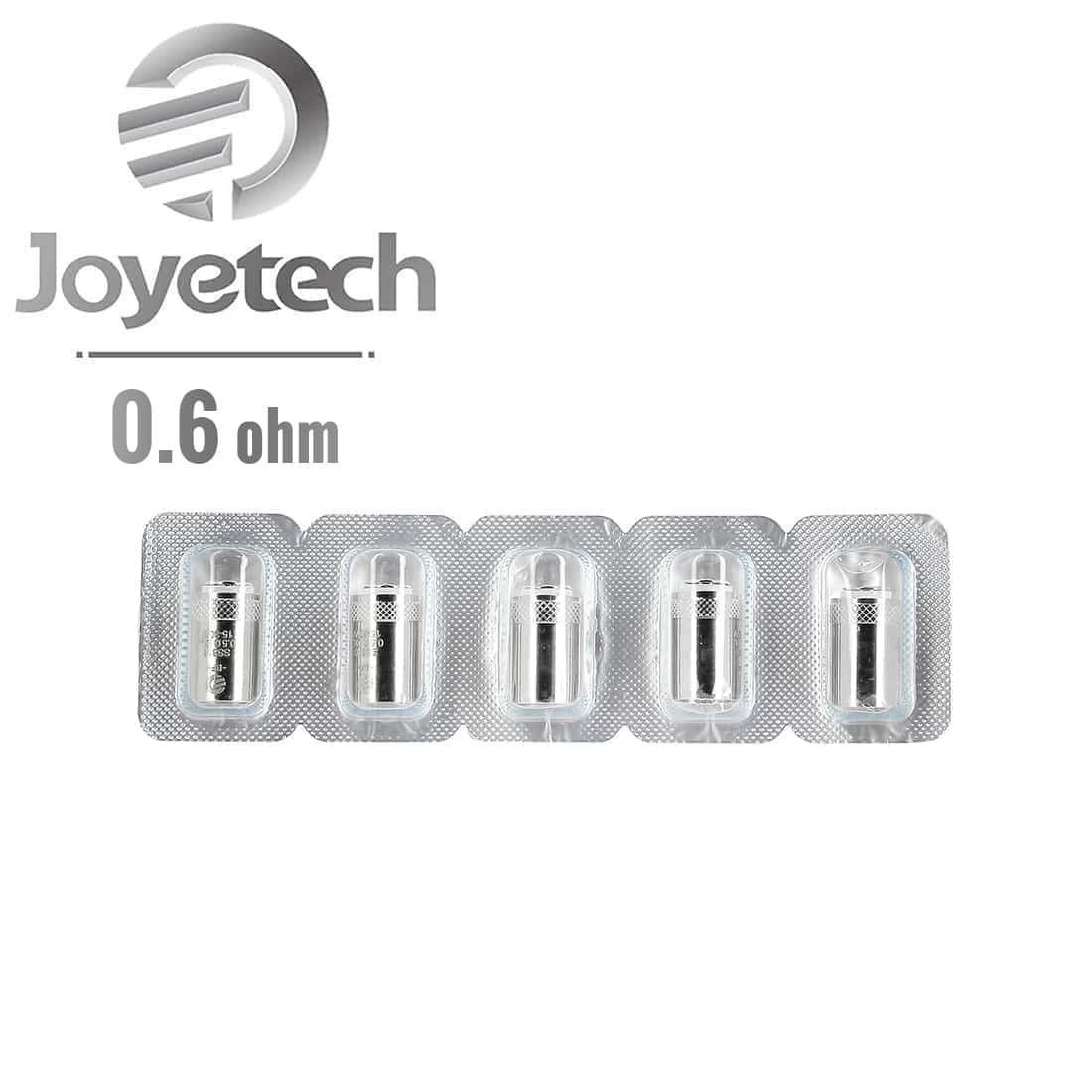 Photo #1 de Résistances Joyetech BFSS316 0.6 Ω pack de 5