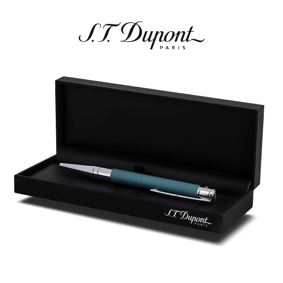 Photo #2 de Stylo ST Dupont Initial Bille Blue Shark