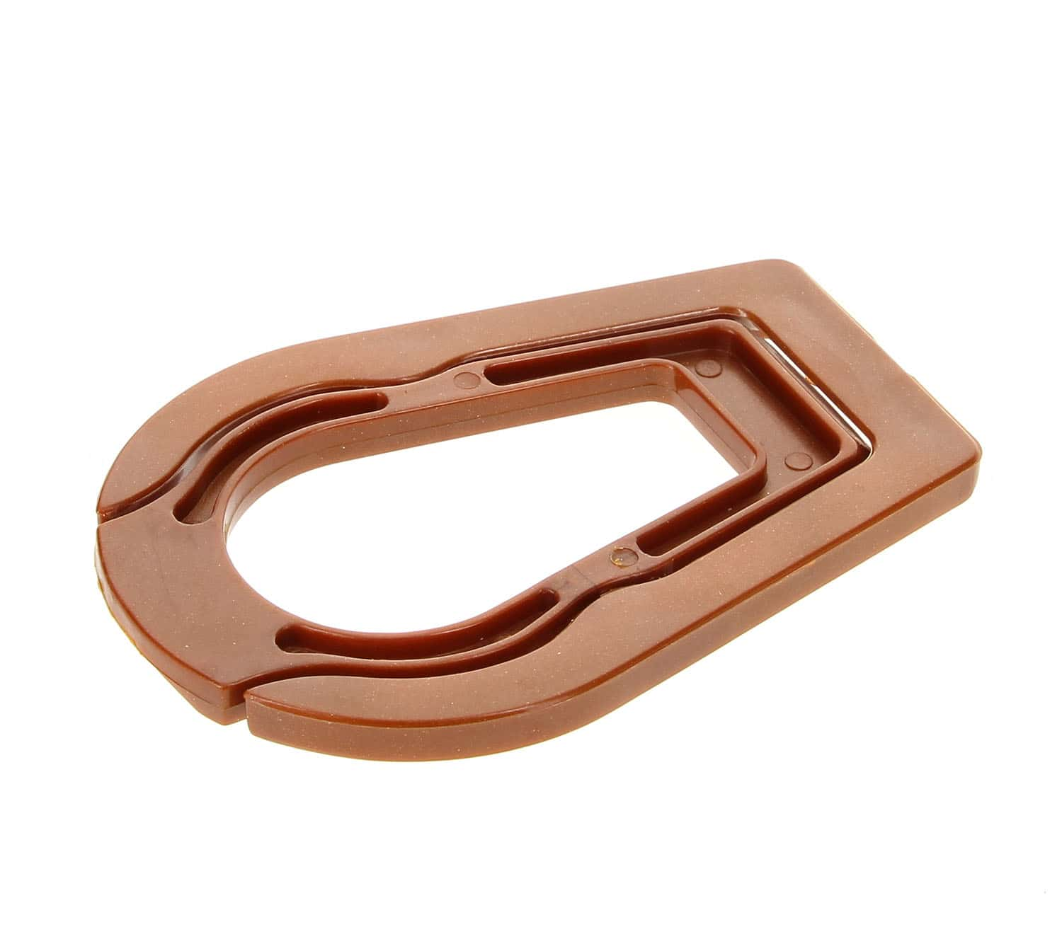 Photo #1 de Support 1 pipe pliable marron