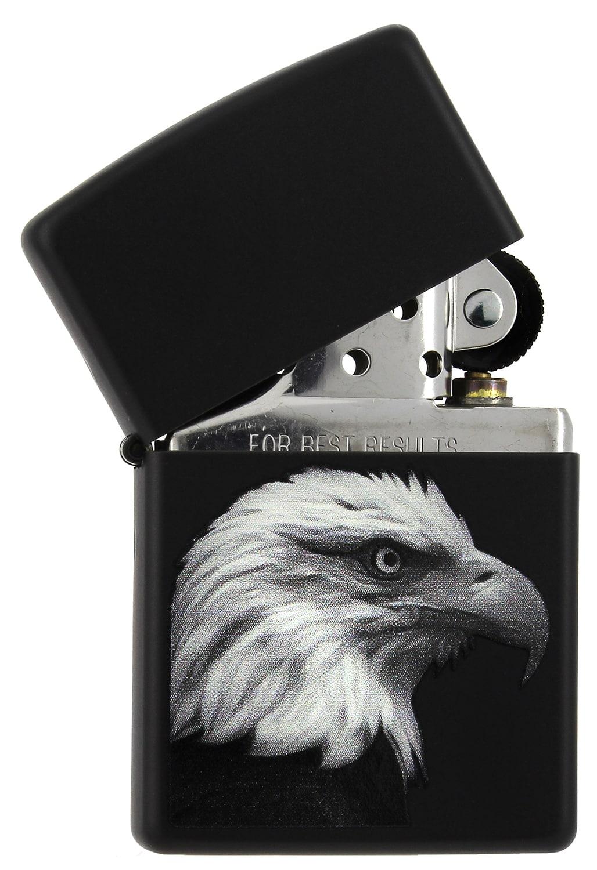 Photo #1 de Zippo Eagle Black Matte
