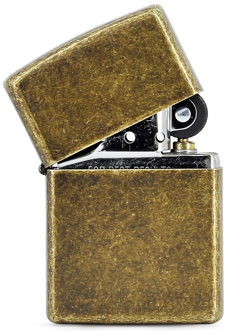 Photo #1 de Zippo Antique Brass 88z276