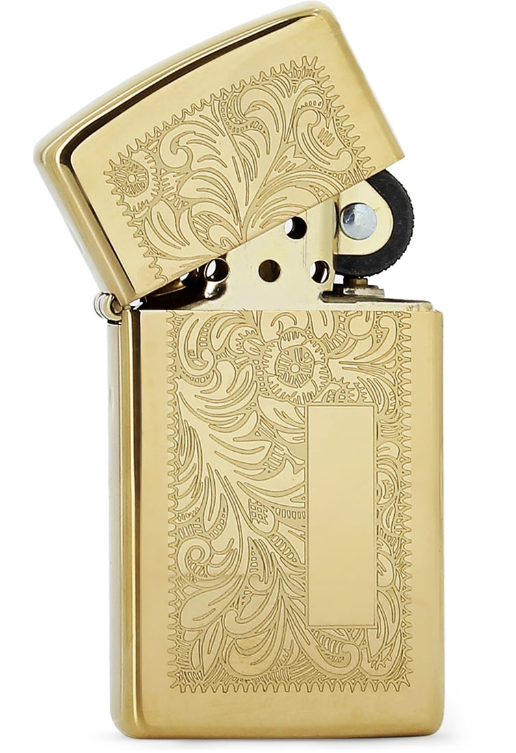 Photo #1 de Zippo brass venetian petit modèle 851041