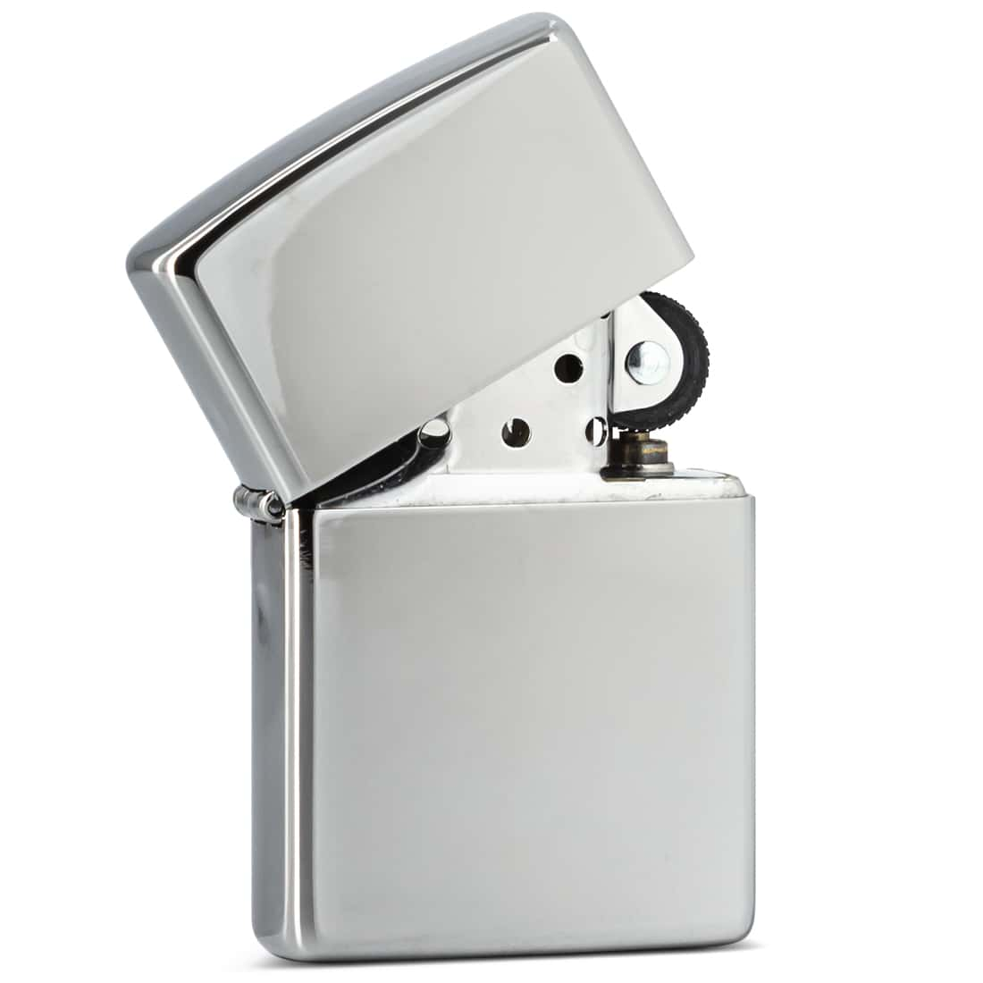 Photo #1 de Zippo high polish chromé grand modèle 850035