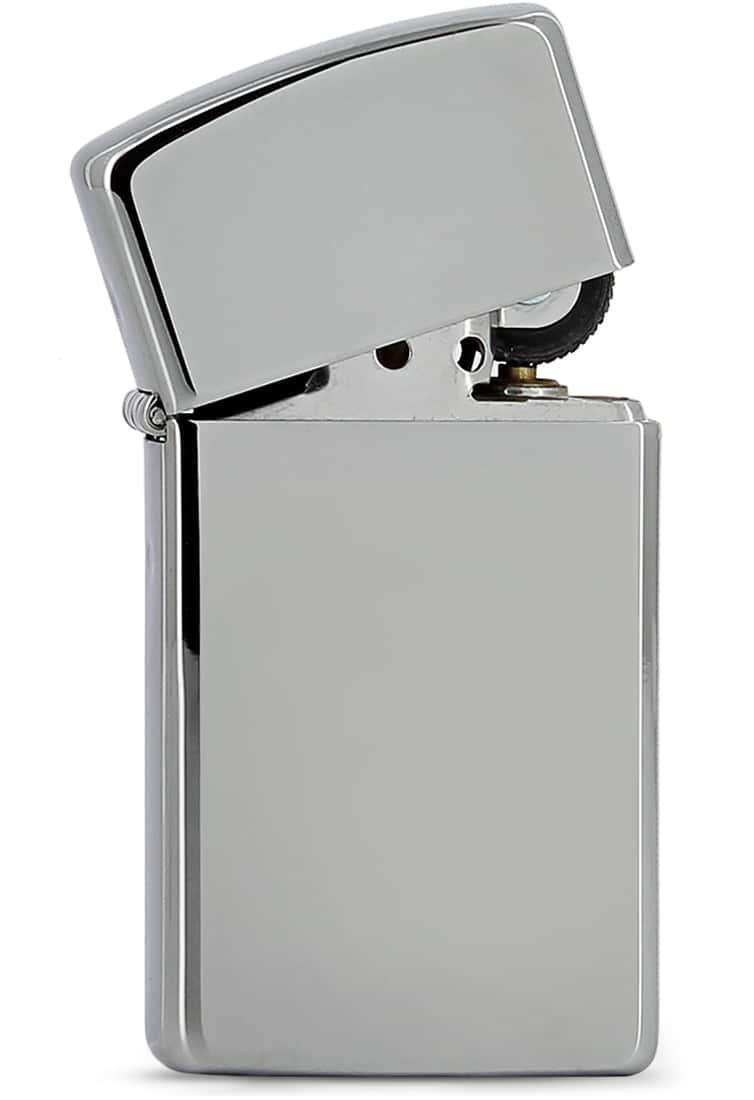 Photo #1 de Zippo High Polish Chrome petit modèle 851002