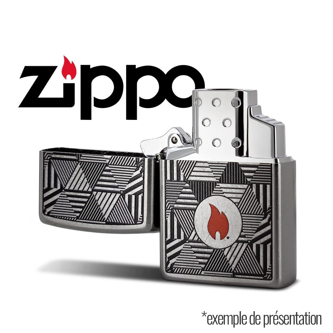 Photo #3 de Zippo Insert Double Flamme Torche