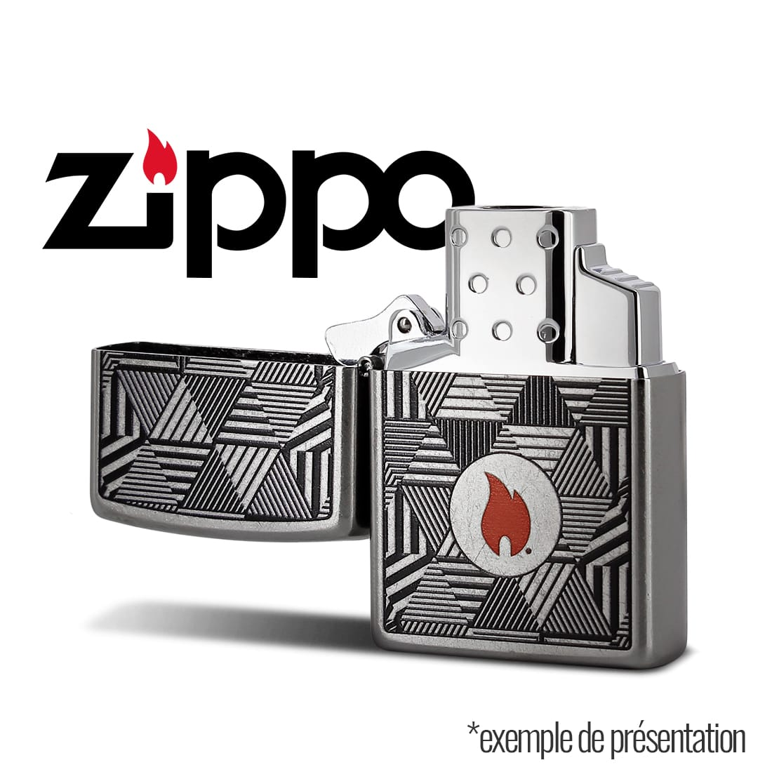 Photo #3 de Zippo Insert Simple Flamme Torche