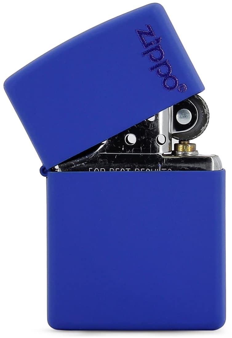 Photo #1 de Zippo Logo Blue Mat 855822