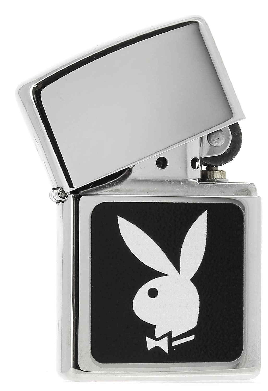Photo #1 de Zippo Play Boy 88Z343 logo Noir et Blanc