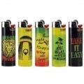 5 briquets Bic maxi à pierre Reggae V2