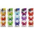 5 Briquets jetables Papillon
