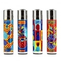 Briquet Clipper Ananas x 4