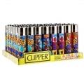 Briquet Clipper Ananas x 48