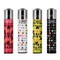 Briquet Clipper Geometrik x 4