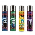 Briquet Clipper Mr Dead x 4