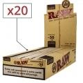 Papier à rouler Raw Mega Longue x 20