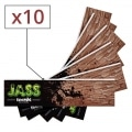 Feuille a rouler Jass Slim Brown x 10