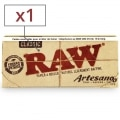 Feuille a rouler Raw Artesano Slim et Tips x 1