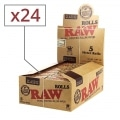 Papier a rouler Raw Rolls Slim x 24