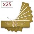 Papier à rouler Jaja Gold Slim x 25