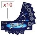 Papier à rouler Smoking Slim Blue x10
