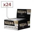 Papier à rouler Rizla + Black Slim et Tips x24