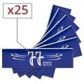 Papier a rouler Jaja Blue Slim x 25