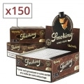 Papier à rouler Smoking Slim Brown x50 PACK de 3