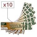 Papier à rouler Rizla + Bamboo Slim et Tips x 10
