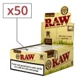 Papier à rouler Raw slim Organic x50