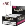 Papier à rouler Rizla Black Slim x50