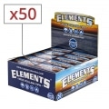 Filtres en carton Elements Larges Non Perforés x 50