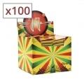 Filtres en carton Jaja Rasta x 100