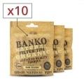 Filtres Slim banko Natural x 10