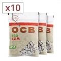 Filtres OCB Eco Bio Slim x 10 sachets