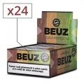 Papier a rouler Beuz Slim Brown et Tips x24