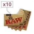 Papier à rouler Raw Regular x10