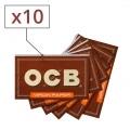 Papier à rouler OCB Virgin x 10