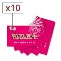 Papier à rouler Rizla + Micron Pink x 10