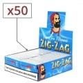 Papier à rouler Zig Zag Bleu x50