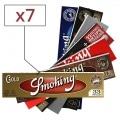 Pack Découverte Feuille a rouler Smoking Slim