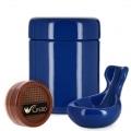 Pack Fumeur de Pipe Céramique Bleu