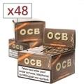 Papier a rouler OCB Slim Virgin rolls et tips x 16 PACK de 3