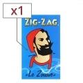 Papier à rouler Zig Zag Bleu x 1