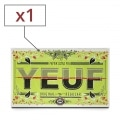 Papier à rouler Yeuf Original Régular x 1