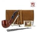Pipe courbée Blague a tabac cuir et accessoires