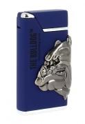 Briquet The Bulldog bleu